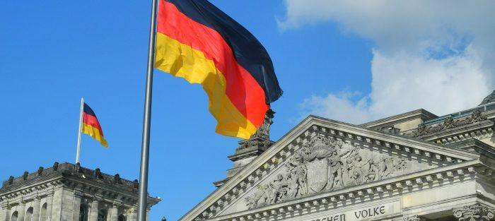 reichstag, německo