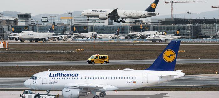 Lufthansa, letadlo