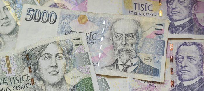 koruna, peníze