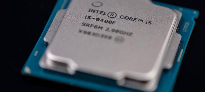 počítačový čip Intel