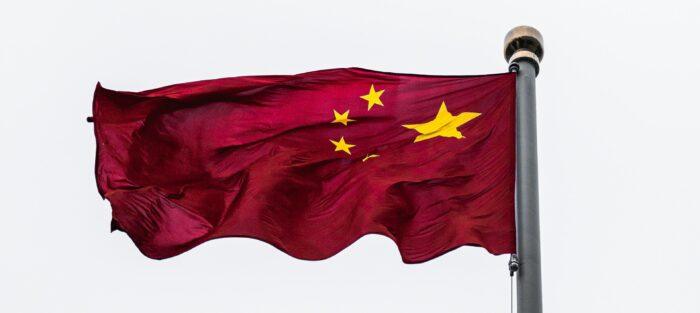 Čína, čínská vlajka, čínský trh