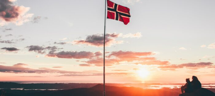 Norsko, vlajka