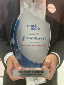 ProfitLevel, Forex Expo v Dubaji, broker, ocenění
